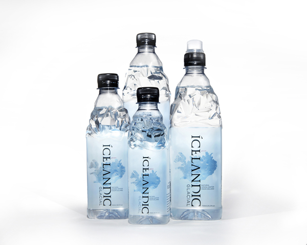 Refreshing Packaging Icelandic Water Bottles