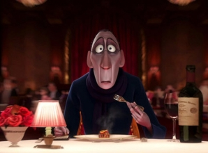 Anton Ego, food critic from Ratatouille (Disney Pixar film)