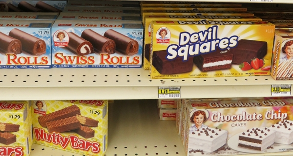 Choco Snacks on shelf