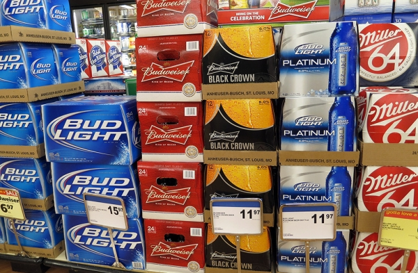 Beer Packs at the Supermarket