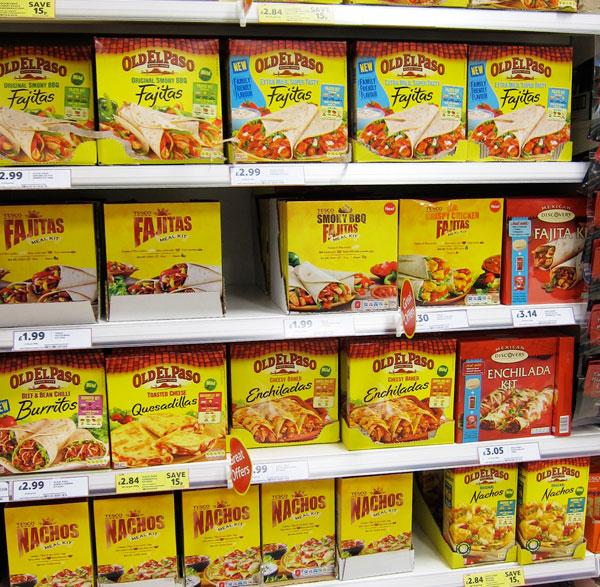 Old el Paso section