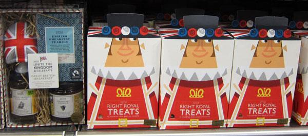 Diamond jubilee special packaging at Marks & Spencer