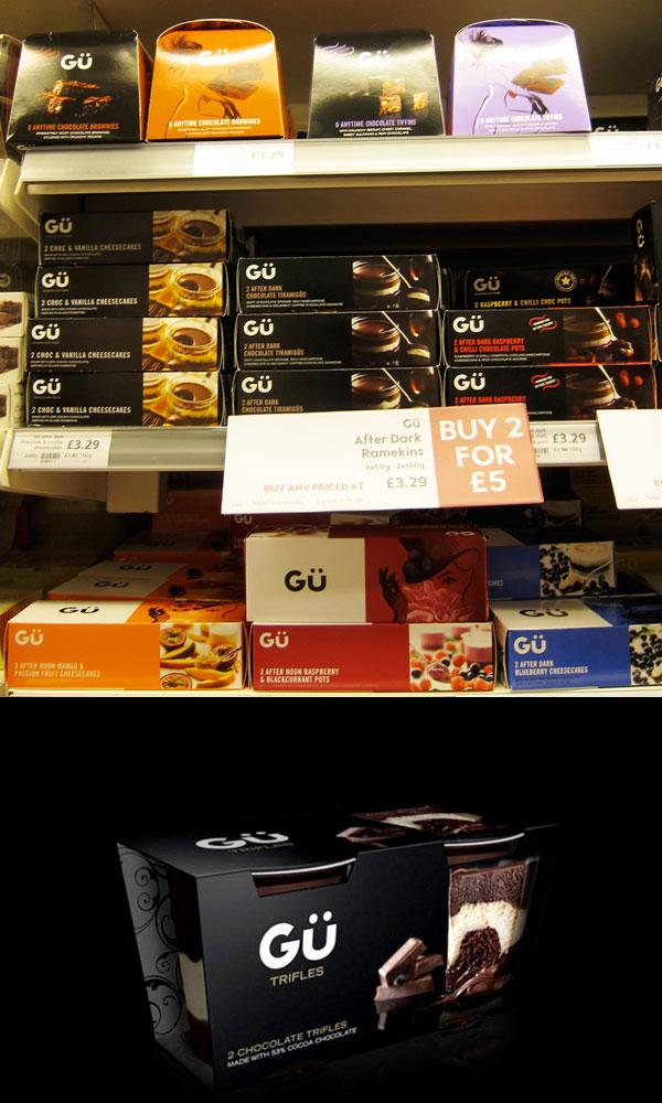 Gü Chocolate Puds packaging