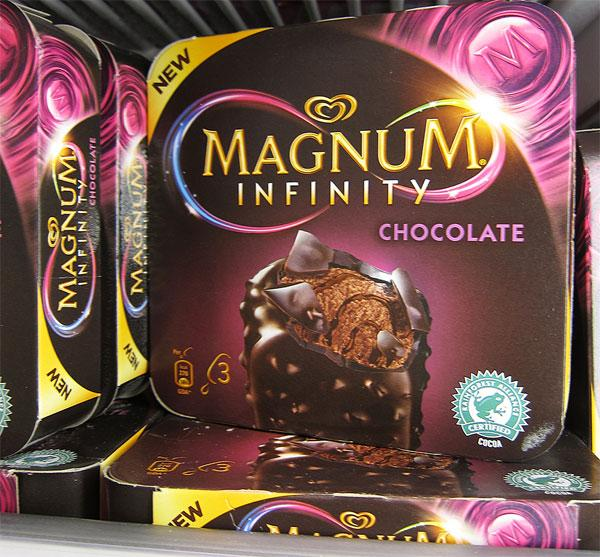 Magnum Ice cream packaging
