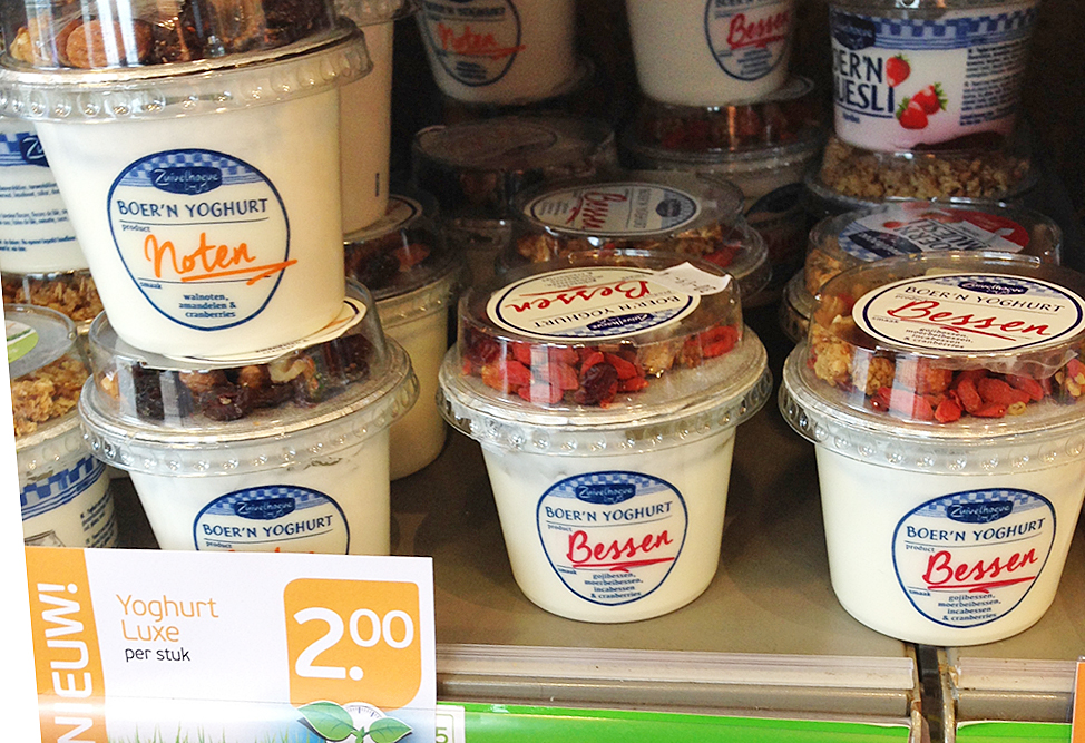 Healthy Yoghurt on the Netherlands Supermarket Shelf - Trust me I'm healthy Issue