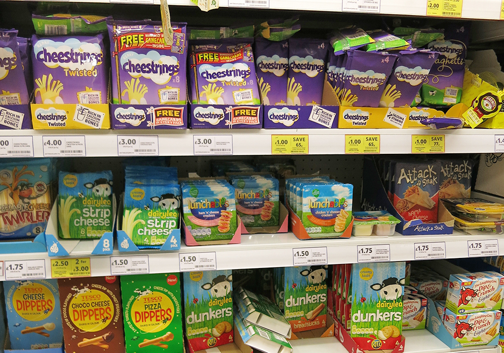 Cheese Snacks on Shelf - Trust me I'm healthy Issue