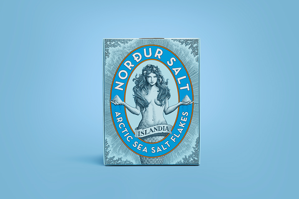 Nordur Salt Crafted Packaging