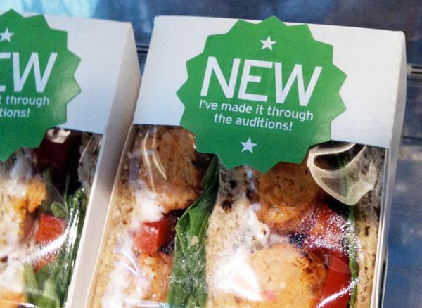 McDonalds Sandwich packaging
