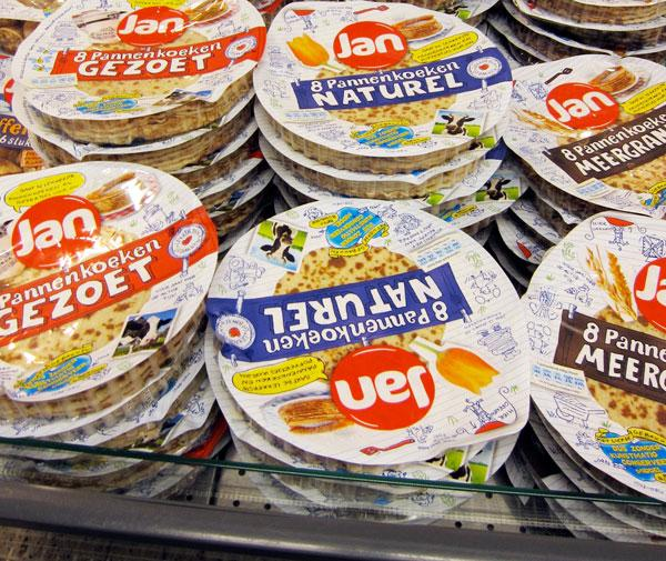 Dutch pancakes packages