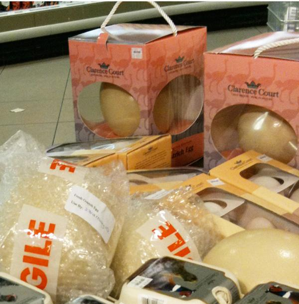 Clarence Court Ostrich Eggs Packages