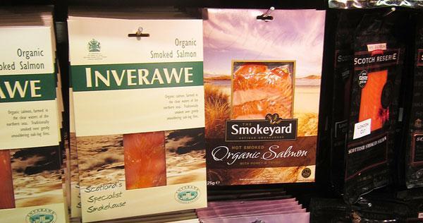 Smoked Salmon packaging