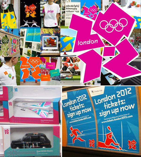 London 2012 images composition