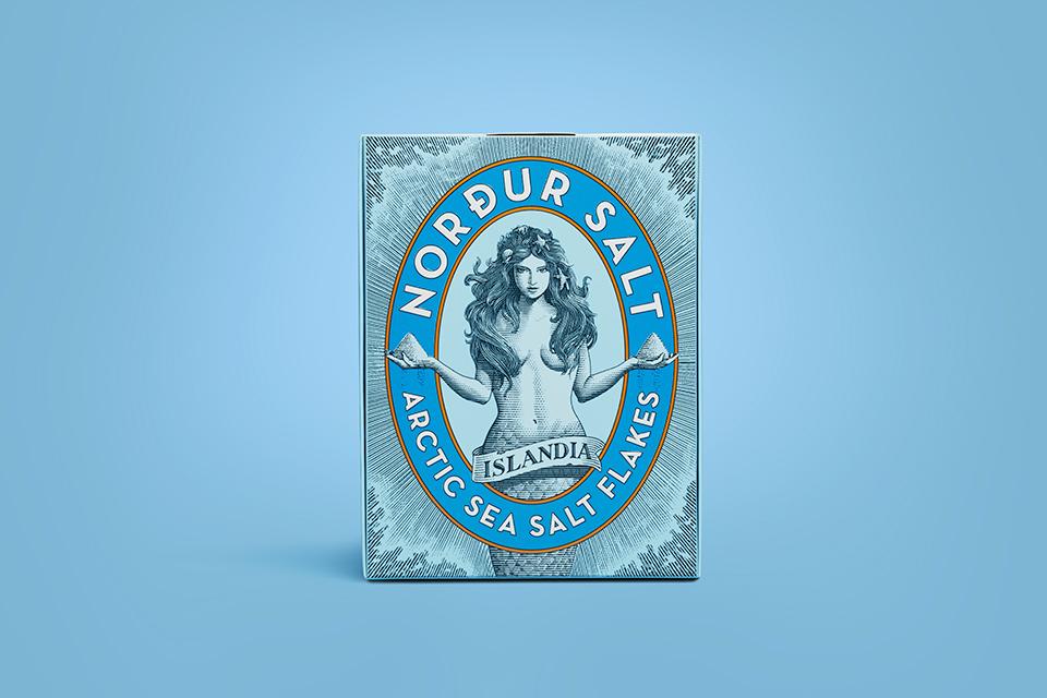 Nordur Salt Crafted Packaging