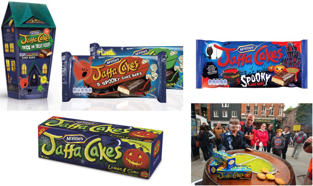 Jaffa Cakes Halloween special edition