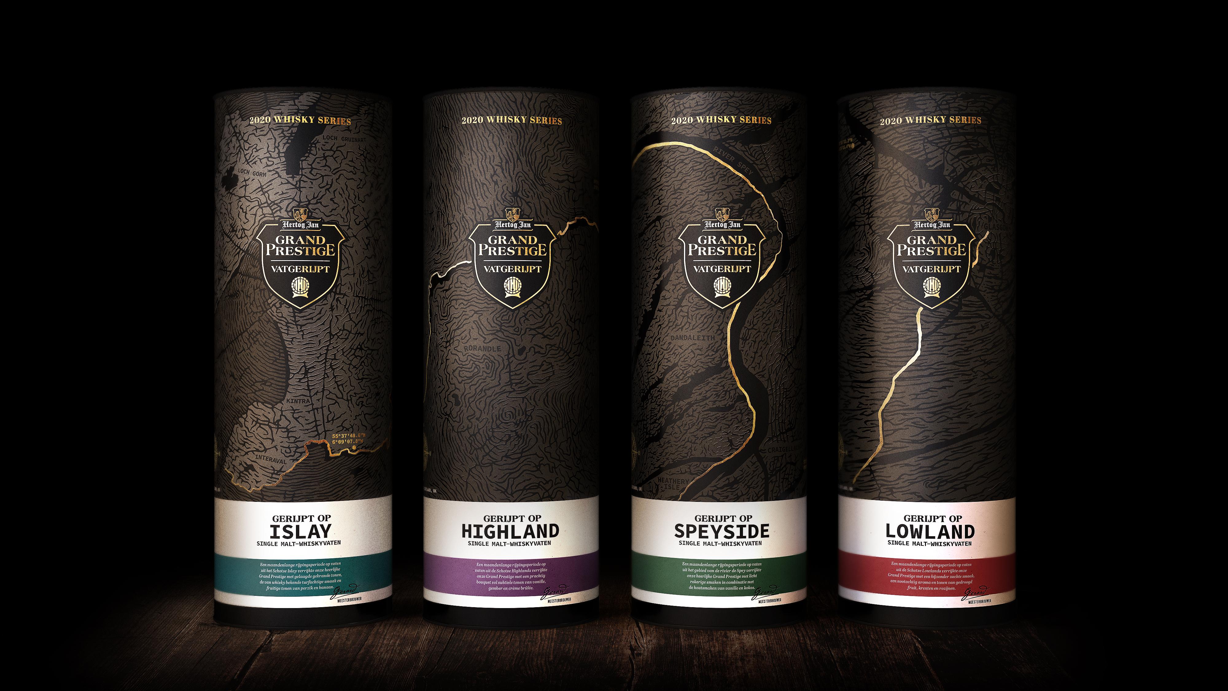 Alcohol Beer Packaging Design - Hertog Jan Grand Prestige Vatgerijpt